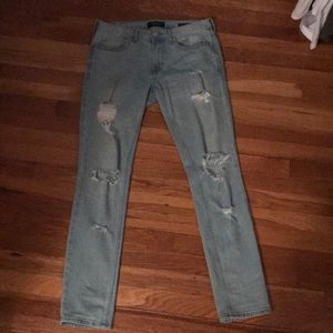 Men's pac sun ripped jeans